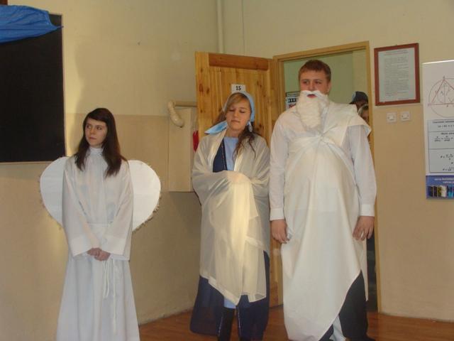 Jasełka 2009 i wigilia 012