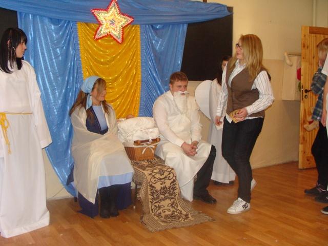 Jasełka 2009 i wigilia 015