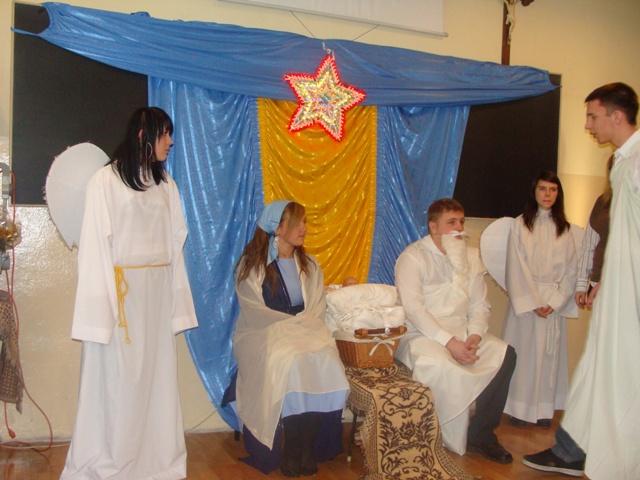 Jasełka 2009 i wigilia 016