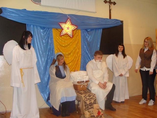 Jasełka 2009 i wigilia 017