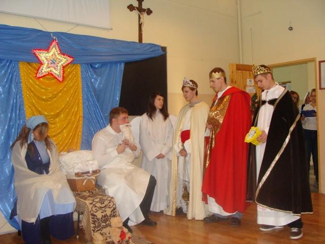 Jasełka 2009 i wigilia 019