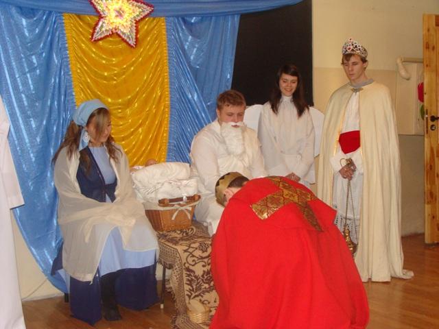 Jasełka 2009 i wigilia 020