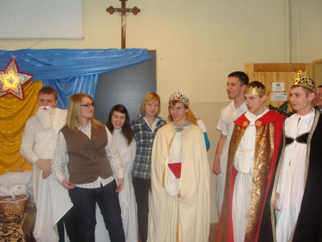 Jasełka 2009 i wigilia 029